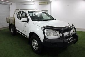2014 Holden Colorado RG MY14 LX Space Cab White 6 Speed Sports Automatic Cab Chassis Moonah Glenorchy Area Preview