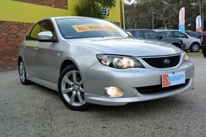 2008 Subaru Impreza G3 MY08 RS Silver 5 Speed Manual Hatchback Upper Ferntree Gully Knox Area Preview