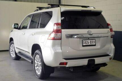 2017 Toyota Landcruiser Prado GDJ150R Altitude White 6 Speed Sports Automatic Wagon Blair Athol Port Adelaide Area Preview