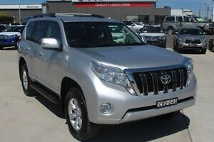 2014 Toyota Landcruiser KDJ150R MY14 Altitude (4x4) Silver 5 Speed Sequential Auto Wagon South Maitland Maitland Area Preview
