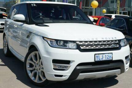 2016 Land Rover Range Rover Sport L494 16.5MY SDV6 CommandShift HSE Fuji White 8 Speed