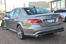 2014 Mercedes-Benz E63 W212 MY14 Silver 7 Speed Sports Automatic Sedan Osborne Park Stirling Area Preview