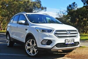 2018 Ford Escape ZG 2018.00MY Titanium PwrShift AWD Frozen White 6 Speed Medindie Walkerville Area Preview