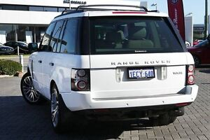 2009 Land Rover Range Rover Vogue L322 10MY Silver 6 Speed Sports Automatic Wagon Osborne Park Stirling Area Preview