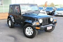 2000 Jeep Wrangler TJ Sport Black 3 Speed Automatic Softtop Tingalpa Brisbane South East Preview