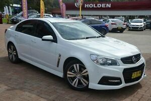 2015 Holden Commodore VF MY15 SS White 6 Speed Automatic Sedan Campbelltown Campbelltown Area Preview