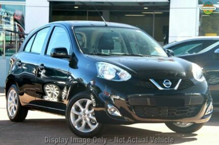 2015 Nissan Micra K13 MY15 TI Boston Black 4 Speed Automatic Hatchback Wynnum Brisbane South East Preview