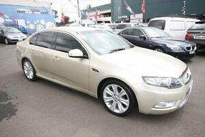 2009 Ford Falcon FG G6E Gold 6 Speed Sports Automatic Sedan Kingsville Maribyrnong Area Preview