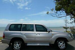 2003 Toyota Landcruiser HDJ100R GXL Beige 5 Speed Automatic Wagon South Gladstone Gladstone City Preview
