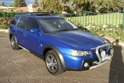 2005 Holden Adventra VZ LX8 Blue 4 Speed Automatic Wagon Blair Athol Port Adelaide Area Preview