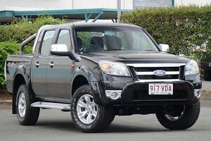 2010 Ford Ranger PK XLT Crew Cab Black 5 Speed Automatic Utility Acacia Ridge Brisbane South West Preview