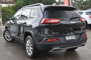 2015 Jeep Cherokee KL MY15 Limited (4x4) Black 9 Speed Automatic Wagon Dee Why Manly Area Preview