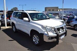 2010 Toyota Landcruiser Prado KDJ150R GXL White 5 Speed Sports Automatic Wagon Mandurah Mandurah Area Preview