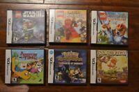 Jeux de Nintendo DS pour enfants (Mario, Lego, Pokémon, etc.)