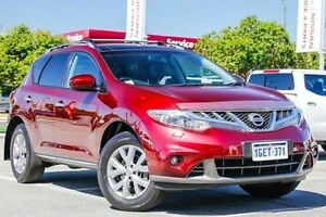 2012 Nissan Murano Z51 Series 3 TI Maroon 6 Speed Constant Variable Wagon Victoria Park Victoria Park Area Preview
