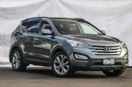 2012 Hyundai Santa Fe DM MY13 Highlander Grey 6 Speed Sports Automatic Wagon