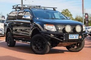 2012 Ford Ranger PX XLT Double Cab Black Mica 6 Speed Manual Utility Mindarie Wanneroo Area Preview