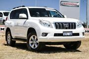 2013 Toyota Landcruiser Prado KDJ150R GXL White 5 Speed Sports Automatic Wagon Bibra Lake Cockburn Area Preview