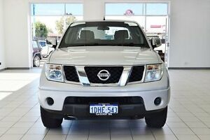 2010 Nissan Navara D40 ST-X (4x4) Silver 5 Speed Automatic Dual Cab Pick-up Morley Bayswater Area Preview