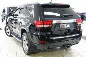 2011 Jeep Grand Cherokee WK Overland (4x4) Black 5 Speed Automatic Wagon Chatswood West Willoughby Area Preview