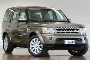 2012 Land Rover Discovery 4 Series 4 MY12 SDV6 CommandShift HSE Nara Bronze 6 Speed Sports Automatic Adelaide CBD Adelaide City Preview