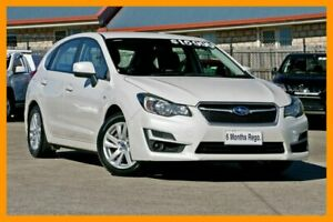 2015 Subaru Impreza G4 MY14 2.0i Lineartronic AWD White 6 Speed Constant Variable Sedan Hillcrest Logan Area Preview