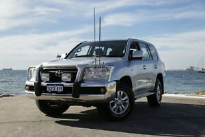 2010 Toyota Landcruiser VDJ200R 09 Upgrade GXL (4x4) Silver 6 Speed Automatic Wagon Rockingham Rockingham Area Preview