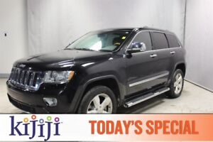 2012 Jeep Grand Cherokee 4WD OVERLAND Navigation (GPS),  Rear DV