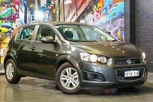 2016 Holden Barina TM MY16 CD Son of a Gun Grey 6 Speed Automatic Hatchback West Perth Perth City Area Preview