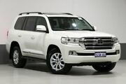 2016 Toyota Landcruiser VDJ200R MY16 Sahara (4x4) Crystal Pearl 6 Speed Automatic Wagon Bentley Canning Area Preview