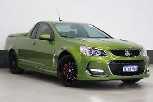 2015 Holden Ute VF II SS-V Redline Green 6 Speed Manual Utility Bentley Canning Area Preview