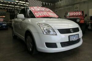 2010 Suzuki Swift EZ 07 Update S 5 Speed Manual Hatchback Mordialloc Kingston Area Preview