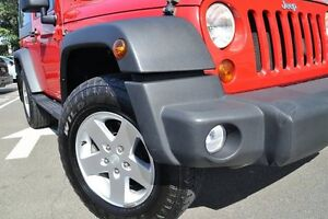 2010 Jeep Wrangler JK MY09 Sport (4x4) Red 4 Speed Automatic Softtop Dee Why Manly Area Preview