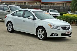 2013 Holden Cruze JH Series II MY13 Equipe White 6 Speed Sports Automatic Sedan Hillcrest Logan Area Preview