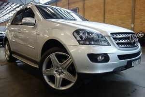 2008 Mercedes-Benz ML350 W164 MY08 Edition 10 Silver 7 Speed Sports Automatic Wagon Port Melbourne Port Phillip Preview