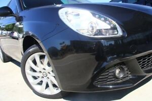 2012 Alfa Romeo Giulietta Series 0 MY12 Distinctive Black 6 Speed Manual Hatchback