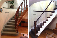 Custom Wood Stairs - Sales and Installation