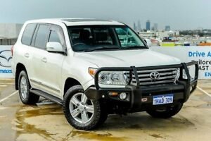 2013 Toyota Landcruiser VDJ200R MY13 Sahara White 6 Speed Sports Automatic Wagon Osborne Park Stirling Area Preview