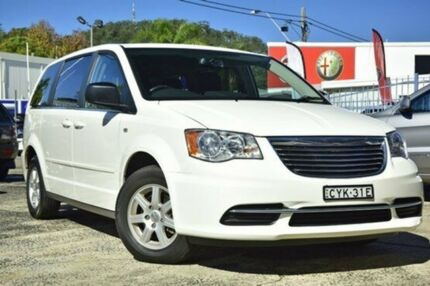 2012 Chrysler Grand Voyager RT MY12 LX White 6 Speed Automatic Wagon Gosford Gosford Area Preview