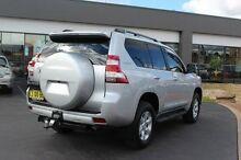 2013 Toyota Landcruiser Prado KDJ150R MY14 GXL Silver Manual Wagon South Maitland Maitland Area Preview