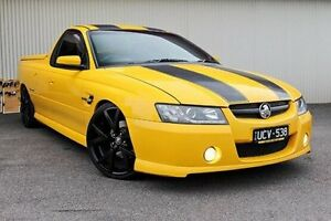 2006 Holden Ute Yellow Manual Utility Dandenong Greater Dandenong Preview