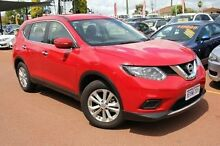 2015 Nissan X-Trail T32 ST X-tronic 4WD Red 7 Speed Constant Variable Wagon Hillman Rockingham Area Preview