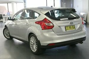 2012 Ford Focus LW Sport PwrShift Silver 6 Speed Sports Automatic Dual Clutch Hatchback Chatswood Willoughby Area Preview