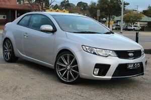 2010 Kia Cerato TD MY11 Koup SI Silver 6 Speed Sports Automatic Coupe Berwick Casey Area Preview