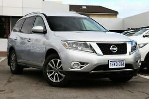2014 Nissan Pathfinder R52 MY14 ST X-tronic 2WD Silver 1 Speed Constant Variable Wagon Victoria Park Victoria Park Area Preview