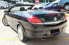 2007 Holden Astra AH Twin TOP Black 4 Speed Automatic Convertible Arncliffe Rockdale Area Preview