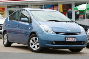 2008 Toyota Prius NHW20R I-Tech Blue 1 Speed Constant Variable Liftback Woolloongabba Brisbane South West Preview