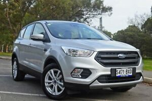 2018 Ford Escape ZG 2018.75MY Ambiente 2WD Moondust Silver 6 Speed Sports Automatic Wagon Medindie Walkerville Area Preview
