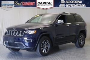 2017 Jeep Grand Cherokee Limited 4WD*Nav*Leather*V6*