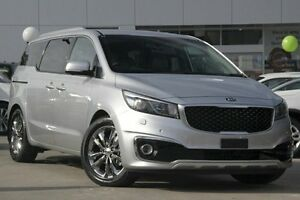 2016 Kia Carnival YP MY16 Update Platinum Silver 6 Speed Automatic Wagon Waitara Hornsby Area Preview